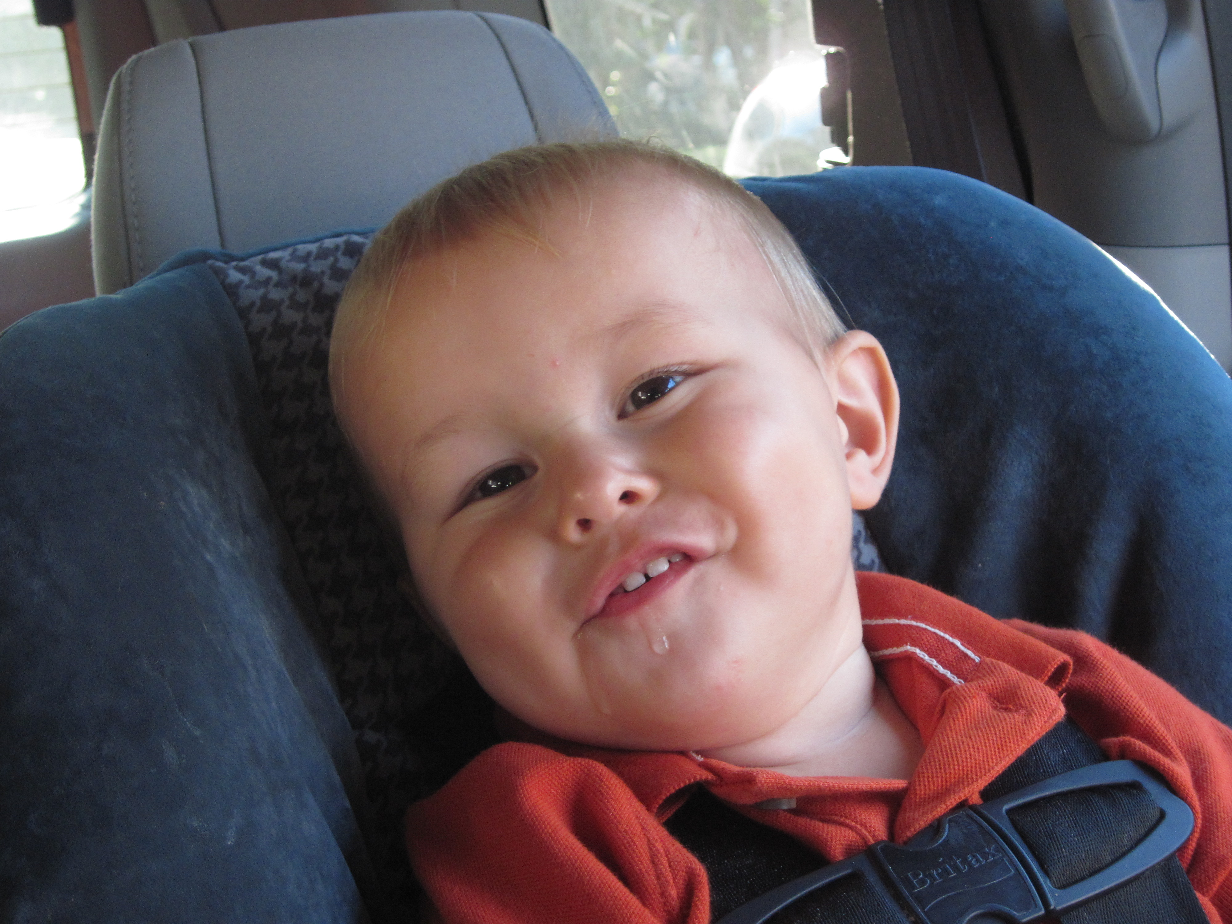 Ugly Fat Kid He smiles like this a lot,