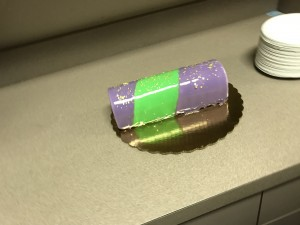 A king cake gelato roll.  I mean.